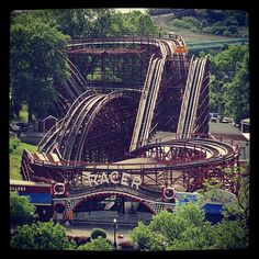 The Racer is a #Kennywood classic!