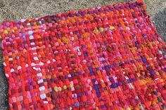 Handwoven Rug Wool Rug Crispina Rug Pot Holder by Crispinaffrench