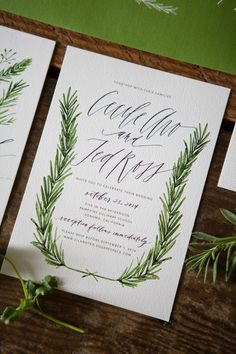Herb Inspired Wedding Invitations-3