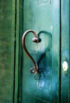 Wonderful Door Handle | Content in a Cottage