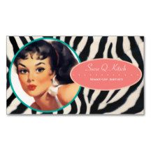Shop The Kitsch Bitsch : Glam-A-Zon Business Card created by kitschbitsch. Kitsch, Salon Business Cards, Nail Artist, Things To Come, Make Up, Prints, Image, Color, Model