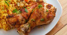 Ha szereted a pikáns, csípős ízeket, a piri-piri csirkét feltétlenül kóstold meg. Currys rizzsel tálalva a legfinomabb. Piri Piri, Food And Drink, Chicken, Red Peppers, Cubs