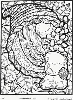 lets doodle coloring sheets Thanksgiving Coloring Pages, Fall Coloring Pages, Adult Coloring Book Pages, Doodle Coloring, Coloring For Kids, Printable Coloring Pages, Coloring Sheets, Coloring Books, Coloring Worksheets