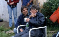 Diarios de Motocicleta. Walter Salles junto a Alberto Granado, el compañero de viaje de Che Guevara y cuya aventura se vio en esta película. Road Movie