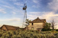 Abandoned farm in Washington.