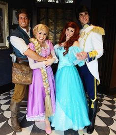 Hey I think Lauren Blodget is really good friends with Rapunzel. (In this picture.)