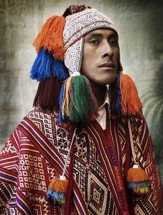 "world-ethnic-beauty: "" "" Peruvian Costumes in Alta Moda, by Mario Testino. Mario Testino, Moda Peru, Ethno Style, Folk Costume, Interesting Faces, Ethnic Fashion, People Around The World, Beauty Around The World, World Cultures"