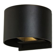$219 Outdoor Round Directional LED Wall Sconce