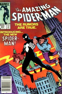 Amazing Spiderman #252 First symbiote suit