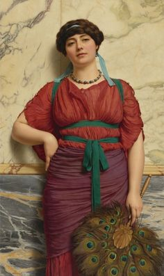 """Eurypyle"" by  John William Godward"