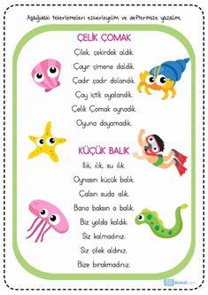 Primary School, Pre School, Turkish Lessons, Turkish Language, Aesthetic Stickers, Preschool Activities, Slogan, Diy And Crafts, Montessori