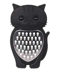 A Kitty in the Kitchen Black Cat Grater by Streamline NYC Gifts, Home Decor, Black and like OMG! get some yourself some pawtastic adorable cat apparel! Man Home Decor, Retro Home Decor, Cat Accessories, Home Decor Accessories, Decorative Accessories, Kitchen Accessories, Crazy Cat Lady, Crazy Cats, Cocina Star Wars
