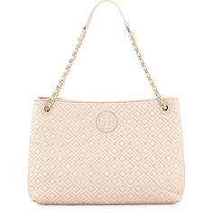 Tory Burch Marion Quilted Slouch Shoulder Bag ($550) ❤ liked on Polyvore