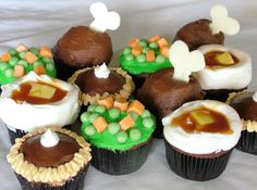 recipe: thanksgiving dinner cupcakes [35]
