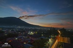 Night in the slope of the legendary Mount Gamalama, Ternate Island, North Maluku, Indonesia. (by Ali Trisno Pranoto)