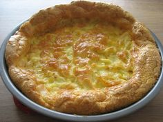 Chicken Curry Clafouti. A simple batter of eggs, butter and coconut milk (or whole cream) bakes into a flourless, sugarless pastry that's more like a quiche than a cake.