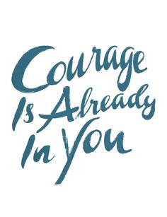 Courage is already in you, it just needs to be released! Step out of your comfort zone and dare to be the change you want to see in the world. No matter what it is you are tackling this year, let this design be a reminder of the strength that lies within you. You can do it! #Sevenly