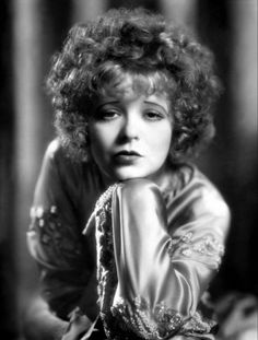 Gimme a little kiss, will ya huh? A photo of the beautiful and talented Clara Bow.