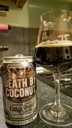 Oskar Blues Death By Coconut Irish Porter. Death By Coconut, Dancing Duck, I Like Beer, Beer 101, American Beer, Ale Beer, Beer Cans, Home Brewing Beer, Beer Packaging