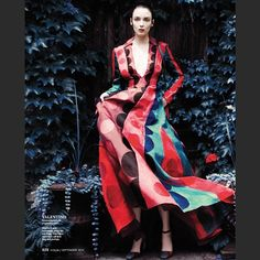 A sneak peek of the September issue of @instylemagazine  features a Valentino Fall Winter 14/15 total look. #outAugust15th @instylemelissa #Padgram
