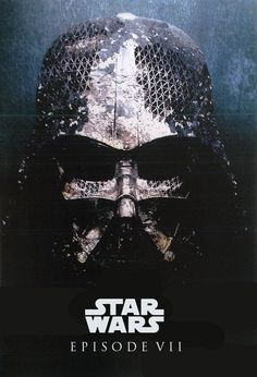 Fanmade poster, but the image of Vader is legit concept art from Episode VII. And holy hell is it cool.