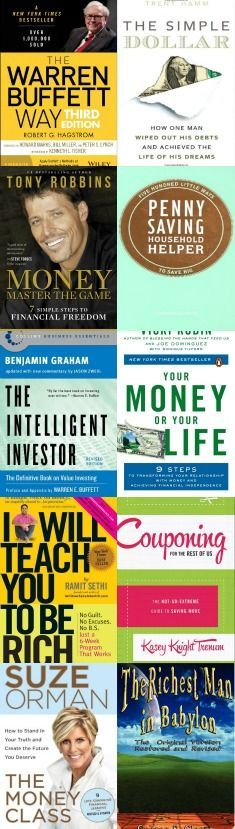 13 Best Finance Books (to Create Smart Money Habits) #FinanceBooks
