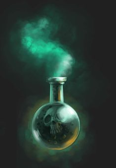 Poison Bottle by Andy-Butnariu