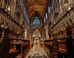 Chester's Cathedral UK