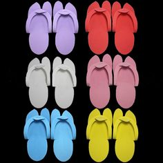 DISPOSABLE PEDICURE SLIPPERS Packed in 12 pairs. Price @20aed per pack