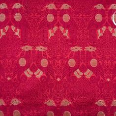14th Century, Woven Fabric, Weaving, Textiles, Pattern, Red, How To Make, Design, Knitting