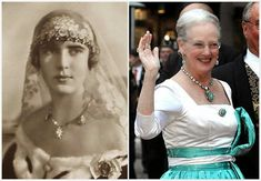 The Royal Order of Sartorial Splendor: Tiara Thursday (on a Friday): The Danish Turquoise Bandeau