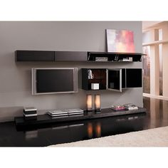 Grand Entertainment Wall Unit