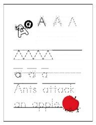 These free alphabet worksheets in manuscript print are ideal for practicing neat handwriting and correct letter formation. Preschool Letters, Free Preschool, Preschool Lessons, Preschool Activities, Alphabet Activities, Free Printable Alphabet Worksheets, Tracing Worksheets, Free Worksheets, Printables