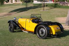 1928 Aston Martin T-Type Bertelli Short-Chassis Sports 7