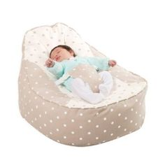 Bambeano® Baby Bean Bag Support Chair - Natural - With FREE 'My 1st Bean Bag' Cover: Amazon.co.uk: Baby