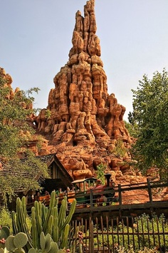 Top 5 thrill rides at Disneyland...can't wait until next fall when Big Thunder RR opens back up!!