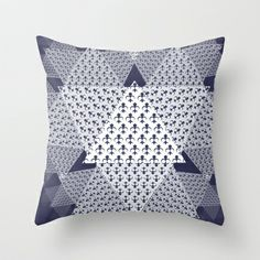 Squids Throw Pillow by Elle Major - $20.00