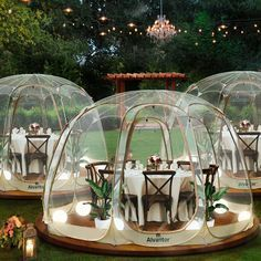 Bubble House, Bubble Tent, Camping Gazebo, Pop Up Screens, Screened Gazebo, Deco Restaurant, Screen House, Pvc Fabric, Hot House