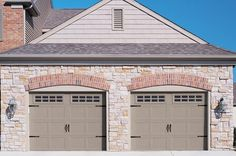 """In 1971, 18% of new homes in North America had a one-car garage; 39% had garages big enough for two or more cars. By 2007, 63% of new homes had two-car garages and 19% had garages for three or more cars. Now entering an era where the garage is for more than cars; it's """"the biggest room in the house"""" and can make or break a sale. Two Car Garage, Garages, North America, Garage Doors, New Homes, Canning, Cars, Big, Outdoor Decor"""