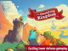 Counting Kingdom - great iOS Math game for ages 6-8