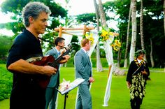 Live music to accompany your wedding vows. We can bring guitar/vocalists or Ukulele/vocalists for a very reasonable rate. Music adds a whole other dimension to your maui wedding. http://www.marrymemaui.com