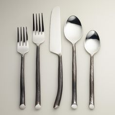 Wedding registry ideas on pinterest plates flatware and ceramics - Funky flatware sets ...