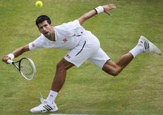 Novak at Wimbledon