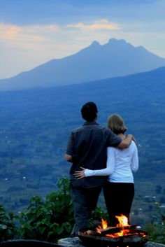Just one of the spectacular views you can treat yourself to in Virunga.