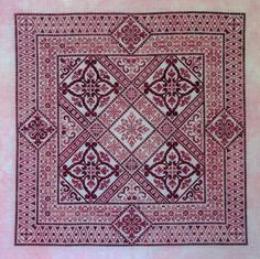 Shades of Rose Chart by Northern by NorthernExpressions1 on Etsy