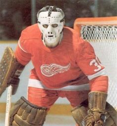 Ed Giacomin - Detroit Red Wings Stars Hockey, Ice Hockey Teams, Hockey Goalie, Hockey Games, Detroit Hockey, Detroit Sports, Detroit Lions, Detroit Michigan, Detroit Red Wings