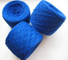 Hey, I found this really awesome Etsy listing at https://www.etsy.com/listing/181043863/wool-yarn-blue-350-gr-122oz-skein-2-ply