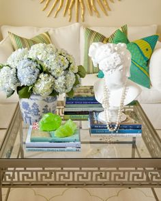 After: Photo styling makes such a big difference in a room - see how I did it in my former living room. tobifairley.com