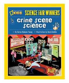 This Crime Scene Science Paperback by National Geographic #zulilyfinds.....Budding forensic experts can use this detailed book to learn about the science of crime scene investigation, then put their newfound knowledge to good use at the next science fair.    •Written by Karen Romano Young •Illustrated by David Goldin •Publisher: National Geographic •Paperback / 80 pages •Recommended for ages 10 years and up *$8/$13