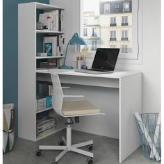 Found It At Wayfair.co.uk   Phillip Computer Desk With Integrated Bookshelf